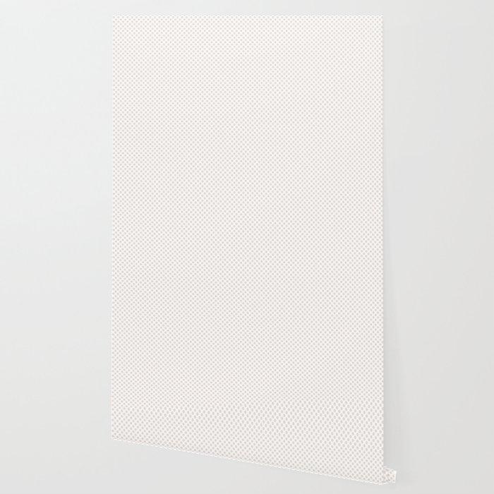 Bridal Blush Polka Dots Wallpaper