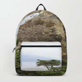 Lone Cypress  Of Monterey Backpack