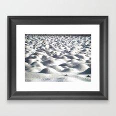Snoww Framed Art Print