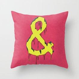amper melt Throw Pillow