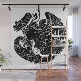 A Pelican in Her Piety Wall Mural
