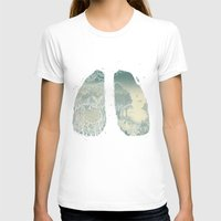 lungs T-shirts featuring Lungs by Herds of Birds