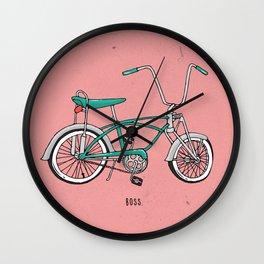 Boss. Wall Clock