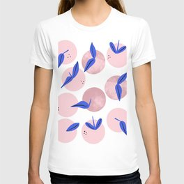 Pink and blue clementines T-shirt