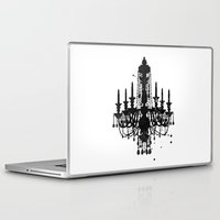 chandelier Laptop & iPad Skins featuring Chandelier by Steven Womack