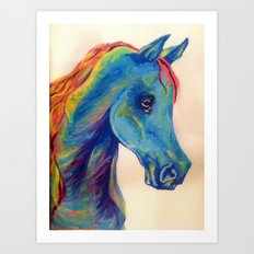 Horse-Head Hues Art Print
