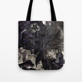 goth peony Tote Bag
