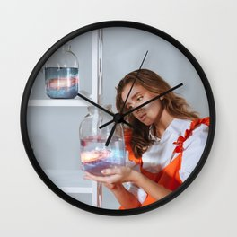 Casually inspecting the alternate universe for defects. Wall Clock