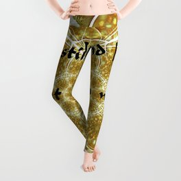 A Psalm of Hope and Faith Leggings