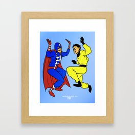 the times are a'changing: 3 Framed Art Print