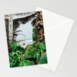 The surfer's spot in Barbados Stationery Cards