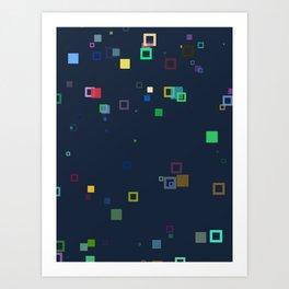 Scatter N°1 Art Print
