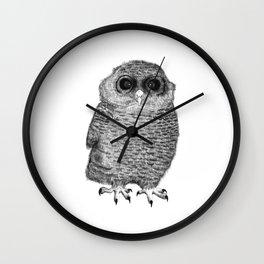 Owl Nr.3 Wall Clock