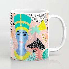 Postmodern Nefertiti Coffee Mug