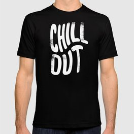 Chill Out Vintage Pink T-shirt