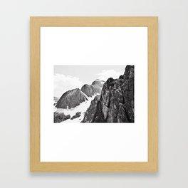Getting High in Colorado Framed Art Print