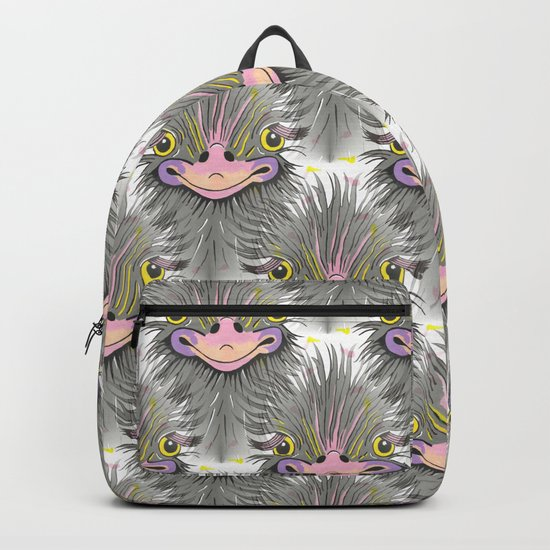 Hair Raising Day Backpack