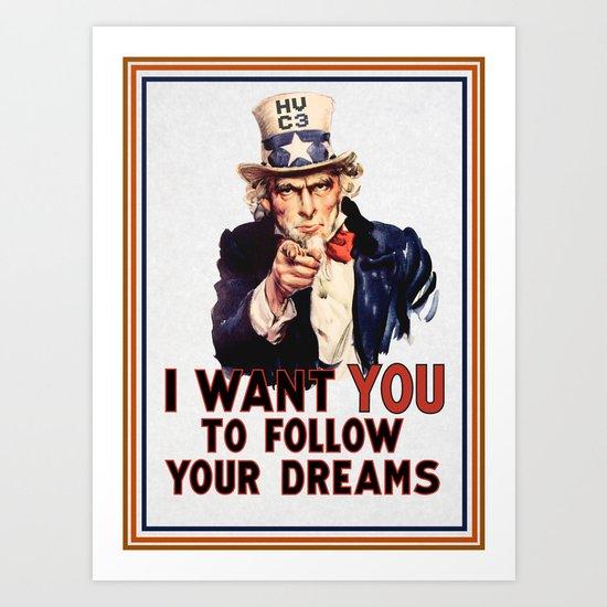 My Uncle Sam Art Print