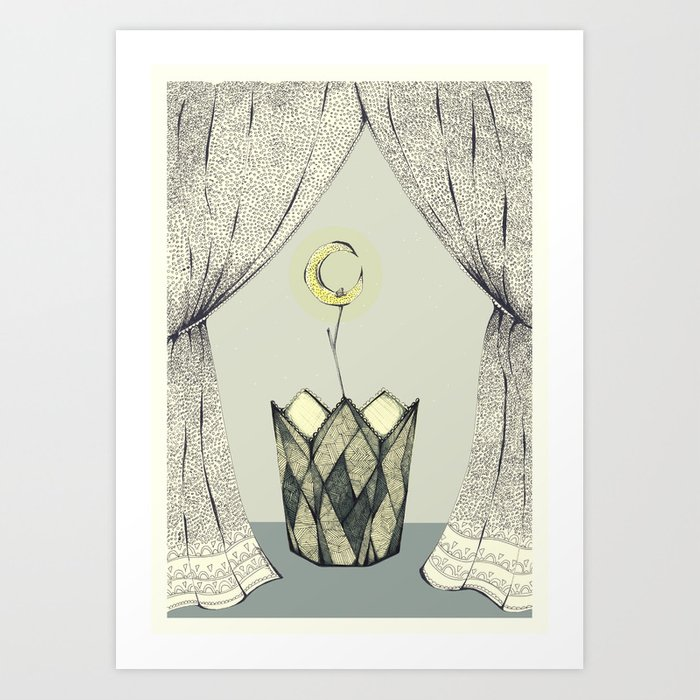 Inspired by radiohead lotus flower art print by awlameow society6 inspired by radiohead lotus flower art print mightylinksfo