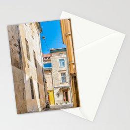 The courtyard of Lviv Stationery Cards