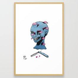 Bad Barber  Framed Art Print