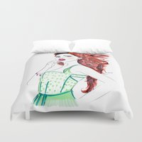 clover Duvet Covers featuring Clover by Christie  Elise