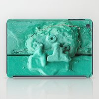 platypus iPad Cases featuring Platypus Face  by Ethna Gillespie