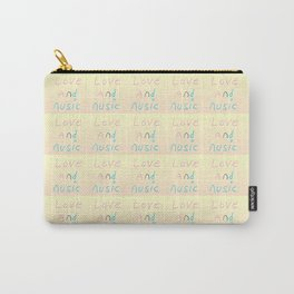 -Love and music-melody,rhythm,harmony,lovely,sweet,romantism,romantic,gentle Carry-All Pouch