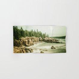 Acadia National Park Maine Rocky Beach Hand & Bath Towel