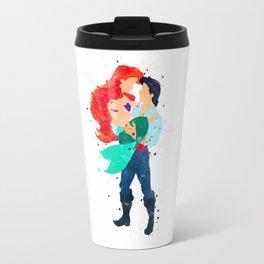 Ariel & Eric Travel Mug