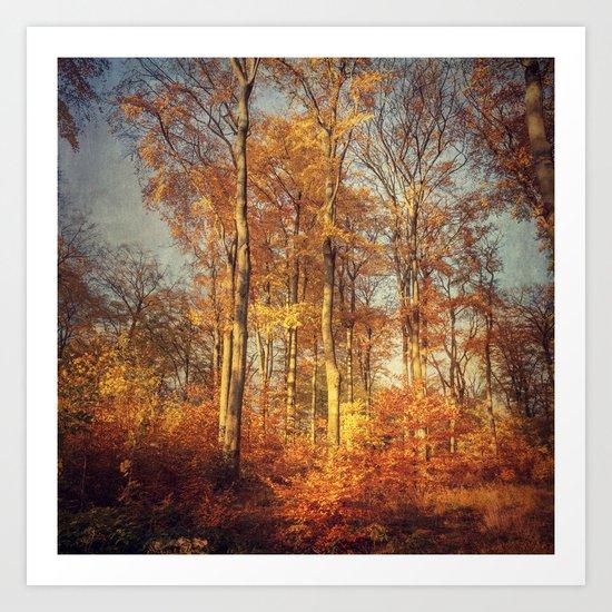 Golden Days Art Print