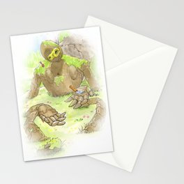 Castle Guardian Robot Stationery Cards