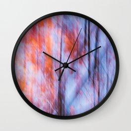 Autumn Motif 2 Wall Clock