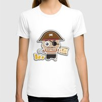 pirate T-shirts featuring PIRATE by AnishaCreations