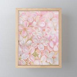 The Essence of Spring- Pink Lilac Flower Framed Mini Art Print
