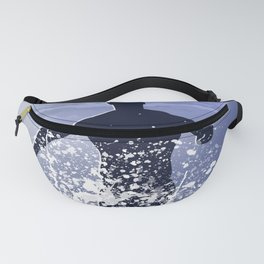 Jump into the ocean at night Fanny Pack
