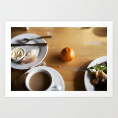 The Scenic Cafe Art Print