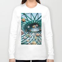 lanterns Long Sleeve T-shirts featuring Chinese lanterns by Anna Berthier