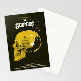 The Goonies art movie inspired Stationery Cards