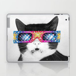 Laser Cat Laptop & iPad Skin