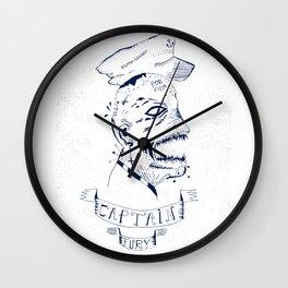 Captain Fury Wall Clock