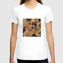 Autumn Bubbles Pattern T-shirt