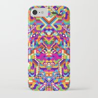 no face iPhone & iPod Cases featuring Face by Toshima115