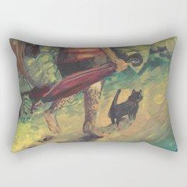 Go Barefoot day Rectangular Pillow