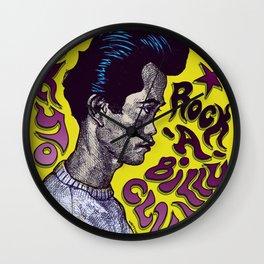 Tokyo Rock-A-Billy Club Wall Clock