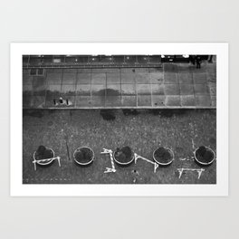 Meat Packing Street Art Print