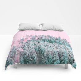 Forest Fog V5 #society6 #decor #buyart Comforters