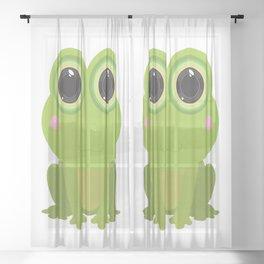 Frog Sheer Curtain