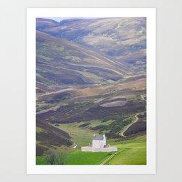 Corgarff Castle | Cairngorms National Park, Scotland | Fine art landscape photography Art Print