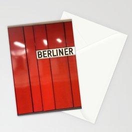 Berlin U-Bahn Memories - Berliner Strasse U7 Stationery Cards